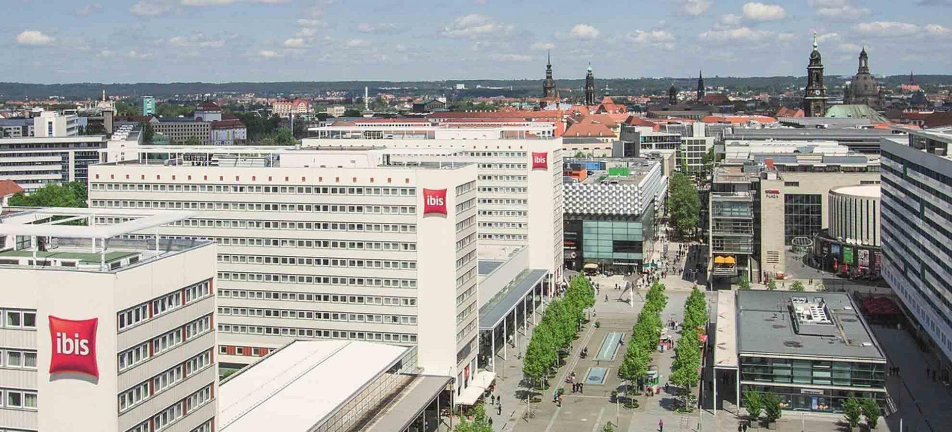 ibis Dresden Zentrum Außenansicht / Exterior view